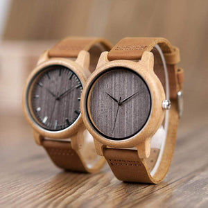 Vintage Style Wood Watch  -  WoodenEarth