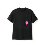Drop Out Black Pocket Tee