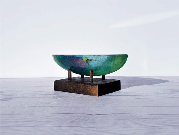 AnyesAttic Glass Bertil Vallien, Kosta Boda, Ocean Palette Fascinating Boat Sculpture, 1000 Pieces | Swedish, 2000s