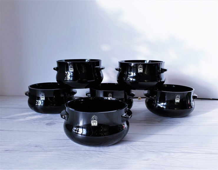 AnyesAttic Glass Riihimaen Lasi, Sesi by Erkkitapio Siiroinen, Modernist Glass 18 Piece Dinner Set | Finnish, 1970s