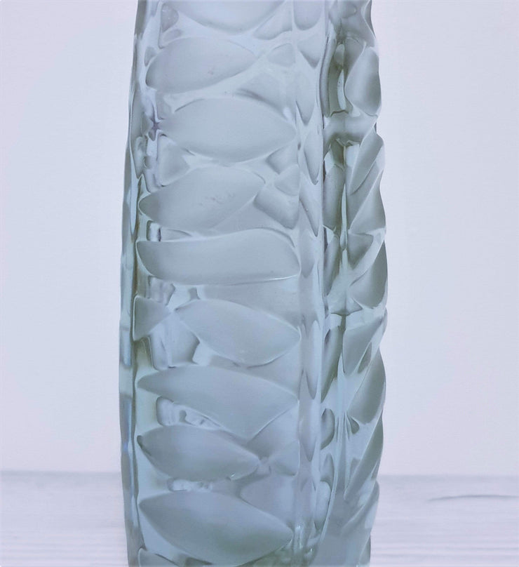 AnyesAttic Glass Zelezny Brod Sklo (ZBS) by Vaclav Horacek Neodymium Colour-Changing Art Glass Vase | 1950s, Rare