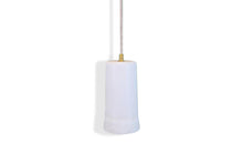 Load image into Gallery viewer, Dusked Pendant - White