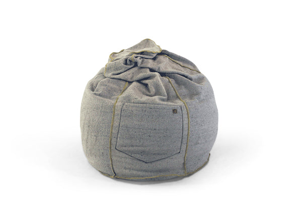 Wool Bean Bag - Recycled Wool