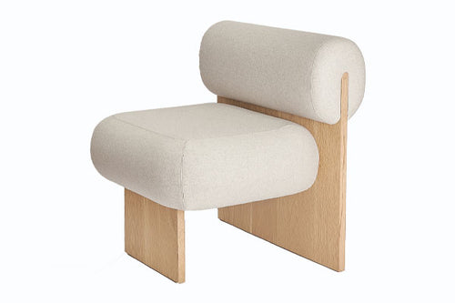 L'Art Lounge Chair - Wool Felt