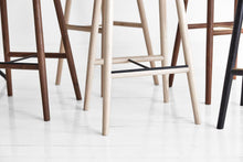 Load image into Gallery viewer, Dowel Stool by Mr Frag - Ash/Brass