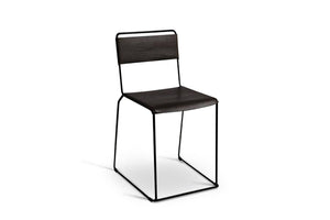 Uccio Chair - Black Leather