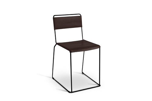 Uccio Chair - Chocolate Leather