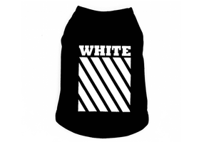 MUSCLES - OW BLACK AND WHITE SLEEVELESS - Zampa