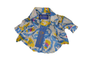 NOVA- BUTTON-UP SILK SHIRT - Zampa