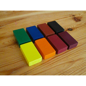 8 Block Crayons (with Black)