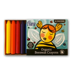 8 Stick Crayons (with Black)