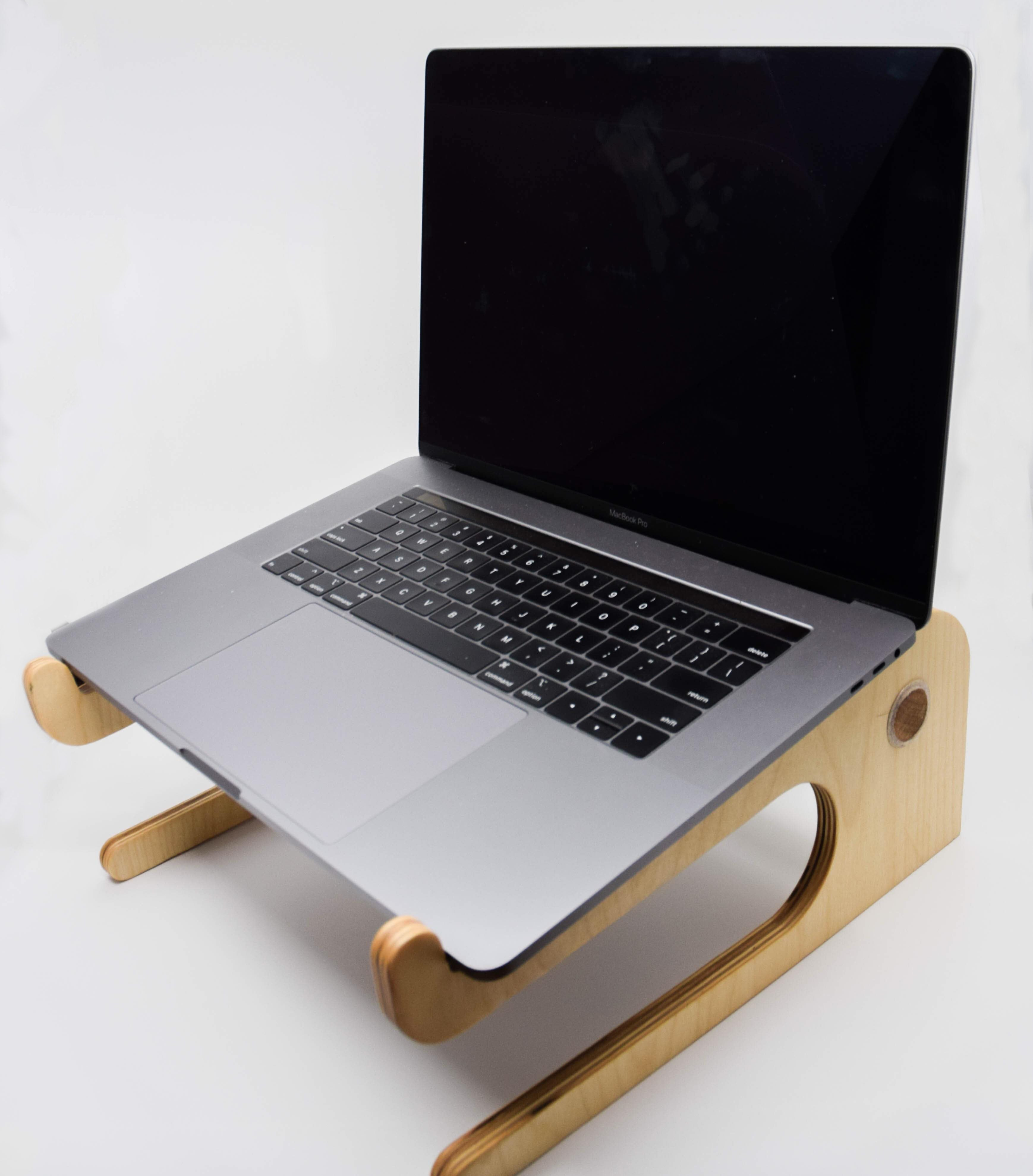 Laptop Stand with Macbook Pro