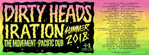 DIRTY HEADS SUMMER TOUR ANNOUNCED
