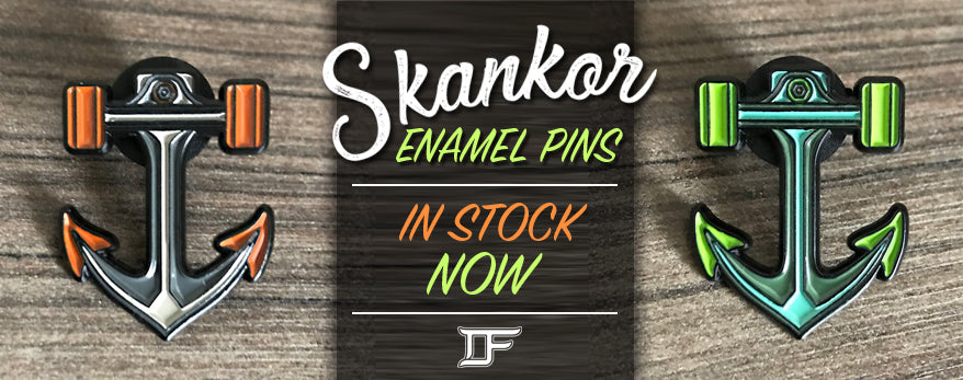 SKANKOR ENAMEL PINS NOW AVAILABLE IN STORE