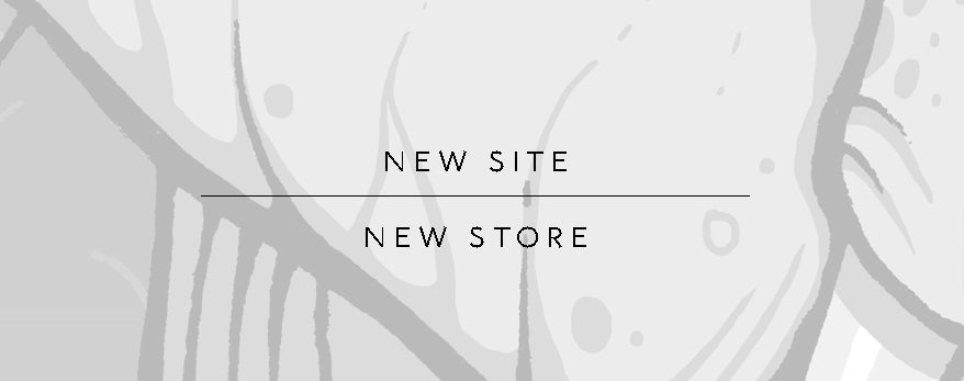 Welcome to My New Site & Store