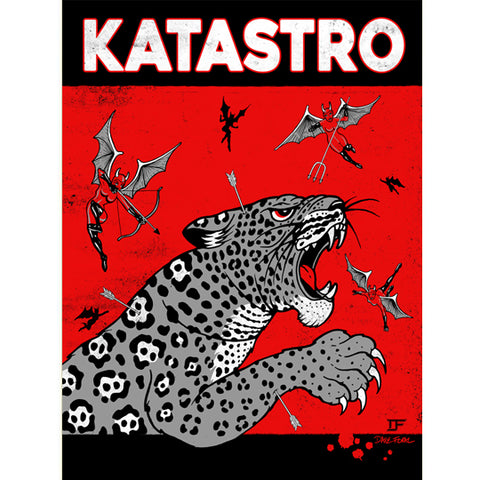"KATASTRO 2018 ""WASHED"" ALBUM PROMO POSTER [Screen Printed] *SIGNED*"