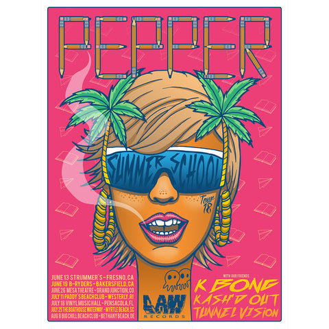 PEPPER 2018 SUMMER CONCERT TOUR POSTER [Limited Edition] *SIGNED*