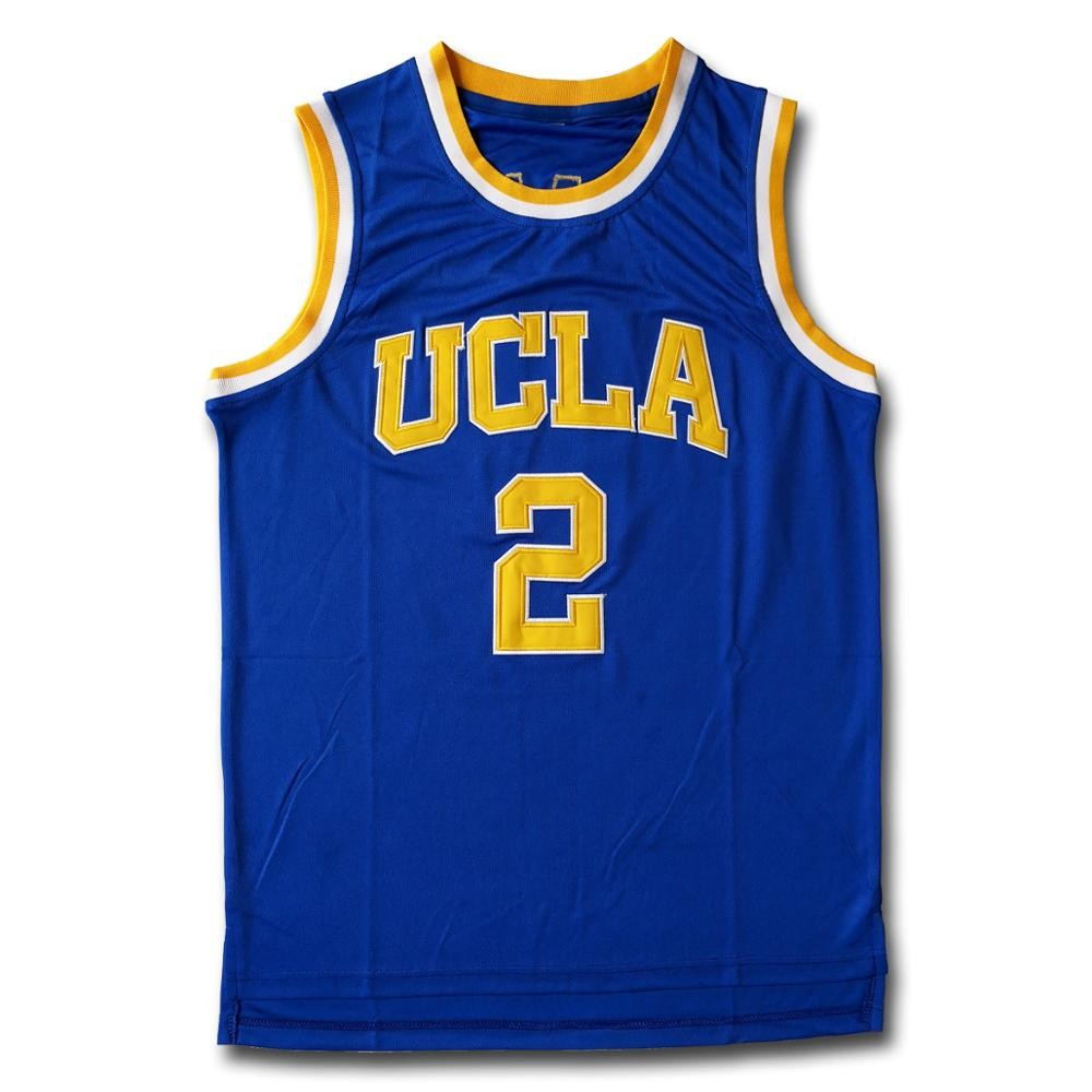 new arrival bc666 c878a Ball #2 Ucla Blue Basketball Jersey
