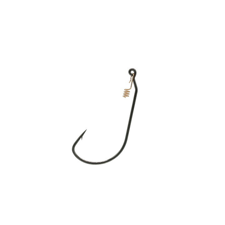 Mustad 4/0 Wide Gap Hook w/Hitchhiker 5pk