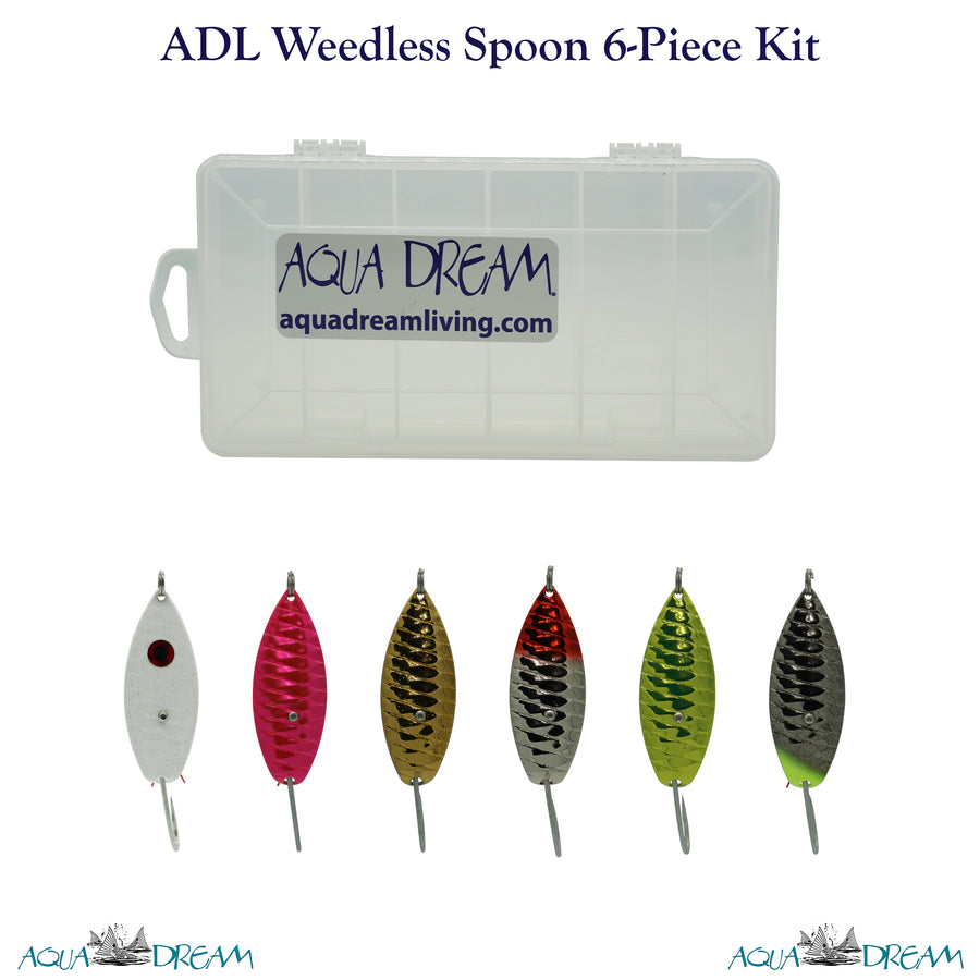 ADL 6pc Weedless Spoon Kit