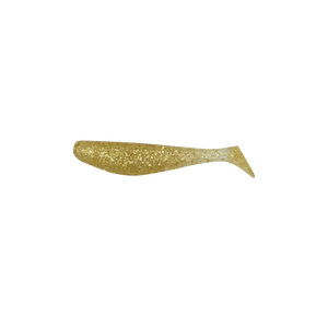 3-Inch Gold Glitter Mullet Tails 10pk
