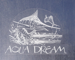 Aqua Dream Marlin 5x7