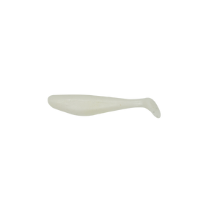 3-Inch Pearl White Mullet Tails 10pk