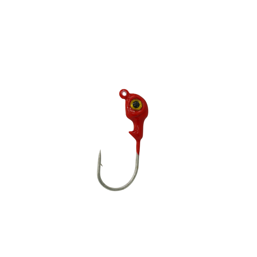 Hakala's 1/4oz Red Slam Jig 4pk
