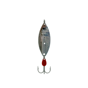 White Pilchard Treble Willow Spoon