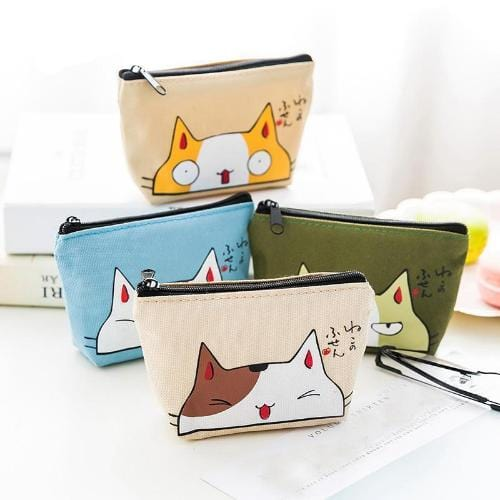 Funny Cat Face Purse
