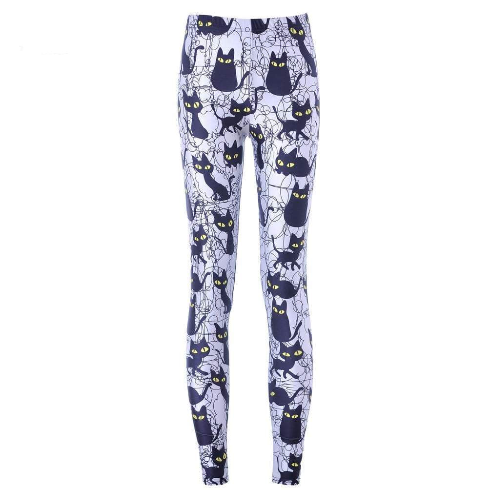Cat Print Leggins