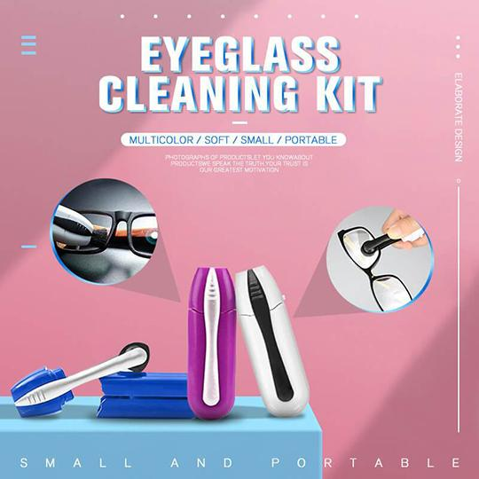 Eyeglass Cleaning Kit—the perfect solution for glasses cleaning