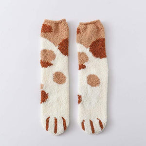 Winter Cat Claws Cute Thick Warm Sleep Floor Socks($5.99,Only Today)