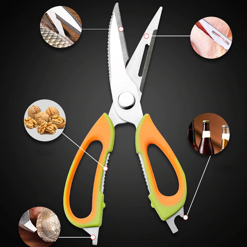50% OFF! Multifunction Cutter Shears Cooking Tools