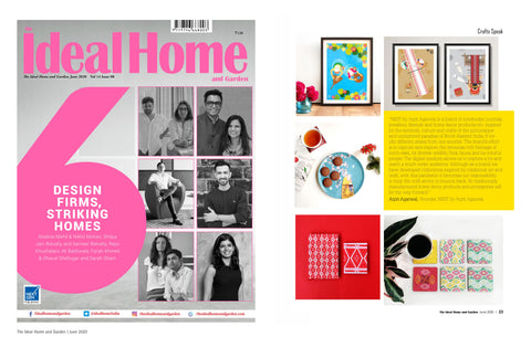 The Ideal Home and Garden Magazine PRESS MEDIA