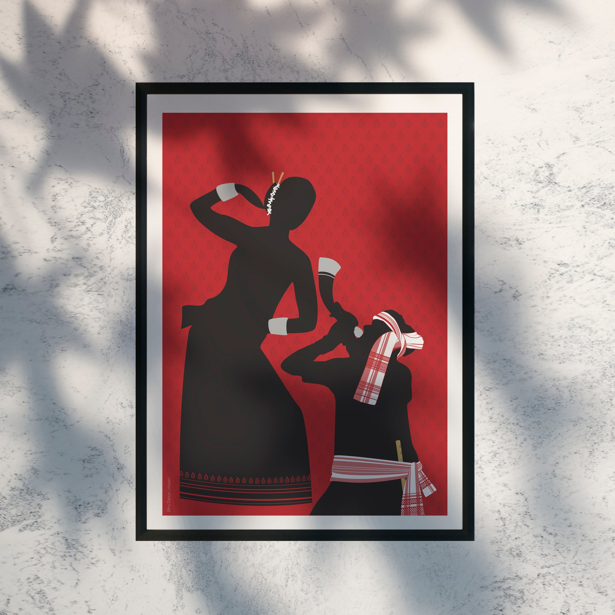 Folk Bihu Dance - Print Only - NEST by Arpit Agarwal