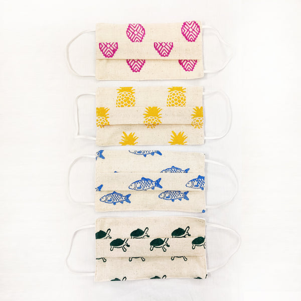 NorthEast Inspired Cotton Masks - Set of Four - NEST by Arpit Agarwal