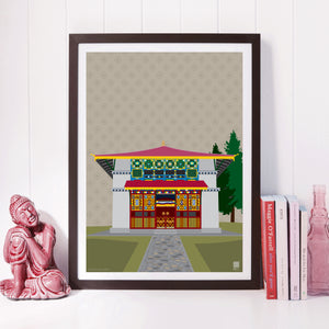 Dubdi Monastery of Sikkim - Print Only - NEST by Arpit Agarwal