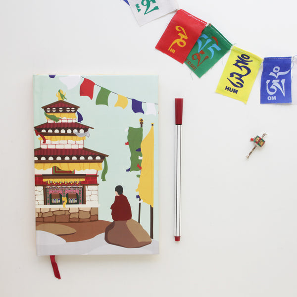Soulful Monastery of Arunachal Pradesh Notebook - NEST by Arpit Agarwal