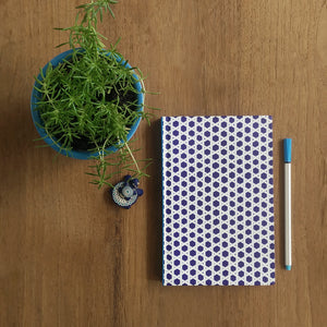 Monday Blue Jaapi Weave Notebook - NEST by Arpit Agarwal