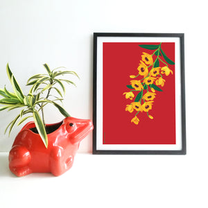 Dendrobium Fimbriatum - Print Only - NEST by Arpit Agarwal