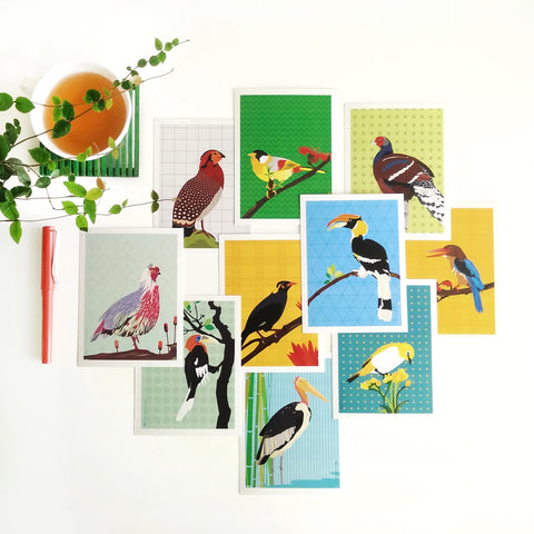 Birds Collection - Set of 10 - NEST by Arpit Agarwal