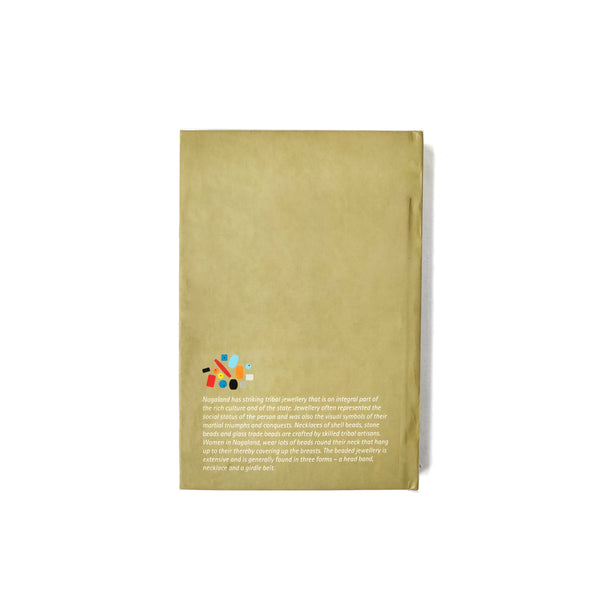 Vibrant Naga Beads Notebook - NEST by Arpit Agarwal