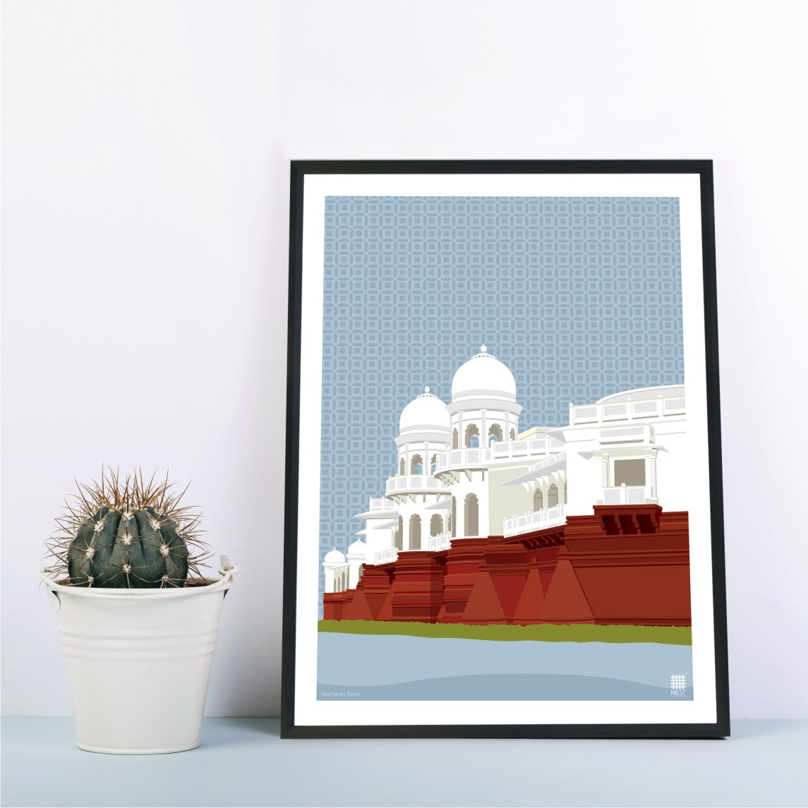 Neermahal of Tripura - Print Only - NEST by Arpit Agarwal