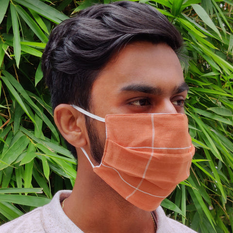 NorthEast Handloom Cotton Masks - Set of Three - NEST by Arpit Agarwal