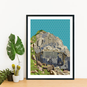 Mystic Unakoti of Tripura - Print Only - NEST by Arpit Agarwal