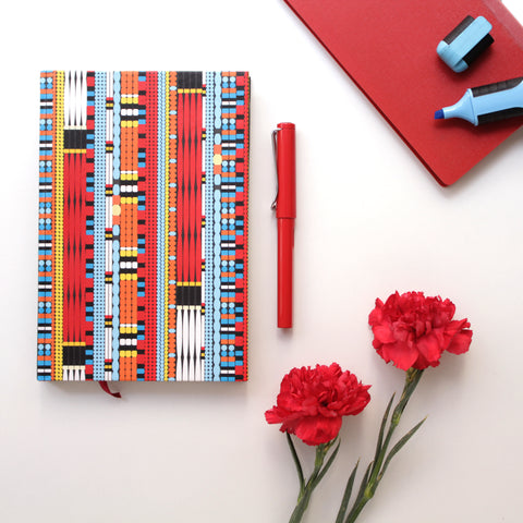 Colourful Naga Beads Notebook - NEST by Arpit Agarwal