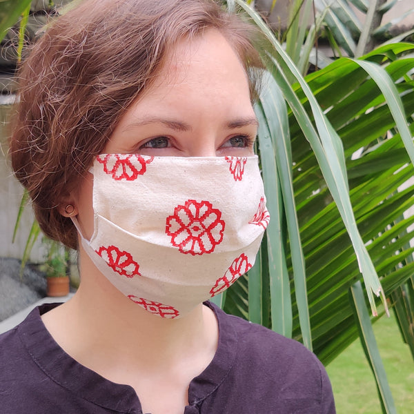NorthEast Inspired Cotton Masks - Set 2 - Set of Four - NEST by Arpit Agarwal