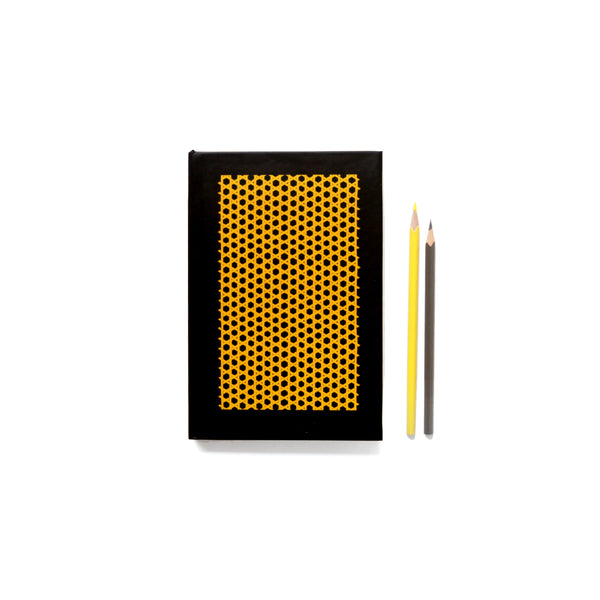 Dandelion Yellow Jaapi Weave Notebook - NEST by Arpit Agarwal