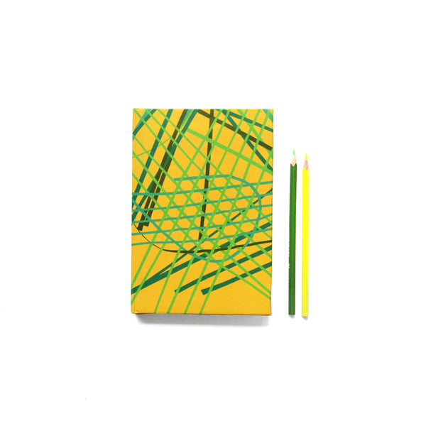 Bumblebee Random Weave Notebook - NEST by Arpit Agarwal